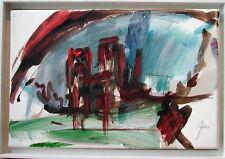 """Herwig Zens  """"Paris, Notre Dame im Regen"""""""