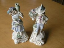 Beautiful Pair Vintage Cordey 5047 Porcelain figures figurines Boy & Girl