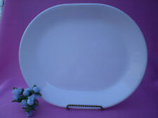 Corelle Dishes Winter Frost White Serving Platter 12 Inch.