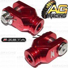 Zeta Red Rear Brake Clevis For Suzuki DRZ 400R 2000-2014 00-14 Motocross Enduro