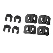 4 Pack Bike Brake Shifter Cable Line Hosing Guide Tie Downs Buckle C-Clips