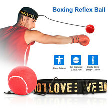 Boxing Fight Ball with Head Band Speed Training Reflex Reaction Gym Exercise Us