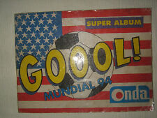ALBUM STICKERS WORLD CUP 1994 USA 94 100% COMPLETE ONDA RARE PERU EDITION