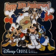 Disney Pin: Disney Cruise Line DCL - 10th Anniversary Fab 5 (LE 500)