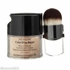 REVLON colorstay aqua mineral foundation with brush in 080 deep - 9.9g