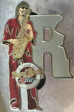 "Hard Rock Cafe Dallas 2001 Musician Letter Series Pin #3/12 ""R"" 30 Year Hrc 30th"