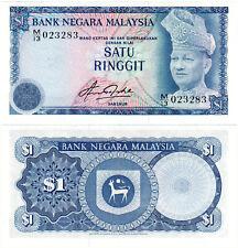 Malaysia $1 P#13a (1976) Bank Negara Malaysia UNC