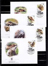 Russia 2004 - FDC - Dieren / Animals / Tiere  WWF/WNF