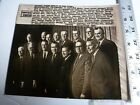 Vintage AP Wire Press Photo 1974 Watergate Nixon Introduces Republican Cabinet