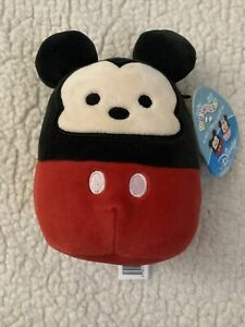 """NEW Squishmallows Mickey Mouse 5"""" Disney Limited Edition Kellytoy Plush"""