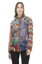 Desigual Bright Printed Lituania Shirt XS-XXL UK 8-18 RRP ?64 Floral Zigzag