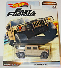 HOT WHEELS FAST & FURIOUS OFF-ROAD BEIGE HUMMER H1