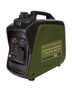 NEW Sportsman GEN1000C 1000W Gasoline Digital Inverter Generator - CARB Approved