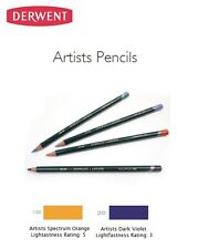 NEW Derwent Artists Drawing Sketching Coloring Pencils: Choose Your Color!!