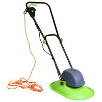 Charles Bentley Electric Hover Lawn Mower Made of Plastic & Steel - 1000W - 28cm
