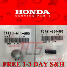 OEM HONDA CIVIC B16A2 SI D16Y8 INTEGRA GSR B18C1 B18C5 SHIFT LINKAGE PIN & CLIP