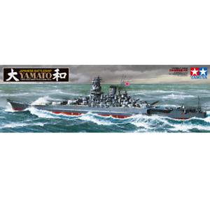 Tamiya 78030 Yamato Japanese Battleship 1/350
