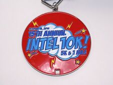 15th Annual Intel Marathon Medal 10K Metal Circuit Board Lanyard Running Race