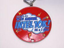 Intel Marathon Medal 15th Annual 10K Metal Circuit Board Lanyard Running Race