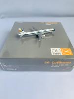 """1:500 Herpa Wings 514637 Lufthansa Airbus A321 """"Retro"""" Reg. D-AIRX 50 Jahre LH"""