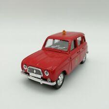 Solido Pompiers Renault 4L 1964