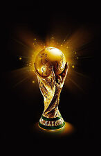 Encadrée imprimer – coupe du monde fifa trophy (sports photo poster football soccer art)
