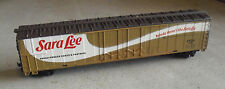 Vintage HO Scale Tyco Sara Lee ERDX 10061 Long Box Car