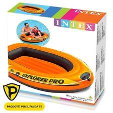 Canotto Gonfiabile per Bambini Intex Explorer Pro 50 Gommone mare 137 X 85 X 23