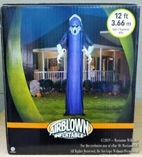 NEW 12 FT AIRBLOWN HALLOWEEN SHORT CIRCUIT GHOST BLUE OVERLAY GEMMY INFLATABLE