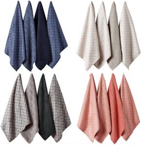 Carver 4pk Ladelle Super Absorbent Quick Drying Microfibre Tea Towels  4 Colours