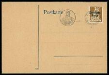 DT. REICH 1921 KARTE EISENACH WARTBURG MARTIN LUTHER REFORMATION RARE!! bf14