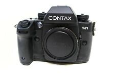 Contax N1 35mm SLR Film Camera w/ Body Cap In Nice Condition LOOK!