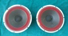 "(2) 60s 350 JansZen 11"" Speaker Woofer Cast Aluminum Alnico Electrostatic Z-400"
