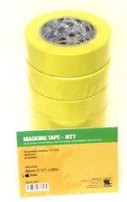 """Indasa 556771 -1 1/2"""" Yellow Masking Tape - Slv of 6 Rolls -  Automotive, Marine"""