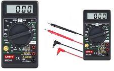 UNI-T M830B LCD Strommesser Multimeter Voltmeter Messgerät Mini Compact