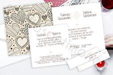 Partecipazioni Nozze Wedding Invitation Inviti Matrimonio Quadrata Funny Design