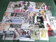 LADY GAGA  -  POP MUSIC - CLIPPINGS /CUTTINGS PACK