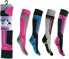 4 Pairs Ladies Thermal HIGH PERFORMANCE SKI SOCKS sking socks thermal Long Socks