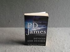 DEVICES AND DESIRES  P D James ADAM DALGILESH MYSTERY CRIME DETECTIVE