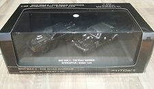 MAD MAX 2 THE ROAD WARRIOR INTERCEPTOR & ENEMY CARS SET BLACK AUTOART 1:43