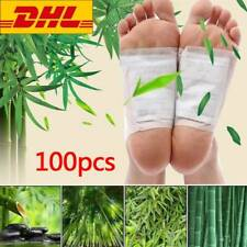 ?100Pcs Fusspflaster Detox Foot Pads Vitalpflaster Entgiftung Entschlackung Set