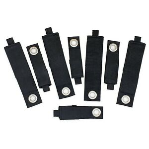 Klettband mit Öse Aufbewahrungsgurt Klettkabelbinder Ordnungssystem