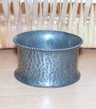 1 x PEWTER NAPKIN RING    ( unmarked )