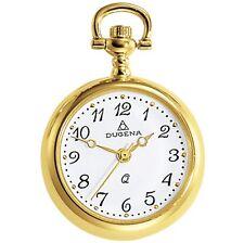 DUGENA 4287991 Taschenuhr mit Kette Uhr Damenuhr Metall Analog gold