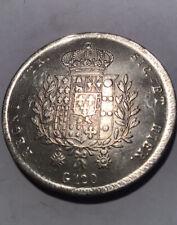 1825, Regno Delle Due Sicilie, Franciscus I, Piastra 120 Grana, BB+/Spl