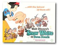 """ Snow White And The Seven Dwarfs "" Original 11x14 Authentic Lobby Card 1937 #1"
