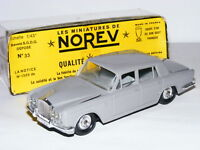 Norev Plastic No.33 Rolls-Royce Silver Shadow Grey 1/43 Boxed