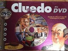 Jeu de société Cluedo DVD - Décodez les indices sur votre télé - Parker TBE