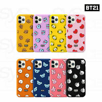 BTS BT21 Official Goods Color Jelly Case Patten Series Ver2 By GCASE + Tracking
