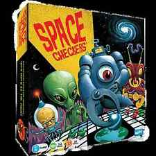 SPACE CHECKERS BOARD GAME